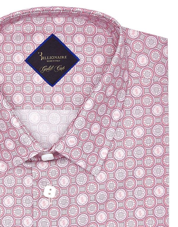 Shirt Gold Cut LS/Cristal Geometric
