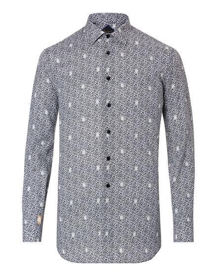Shirt Silver Cut LS Matthiew