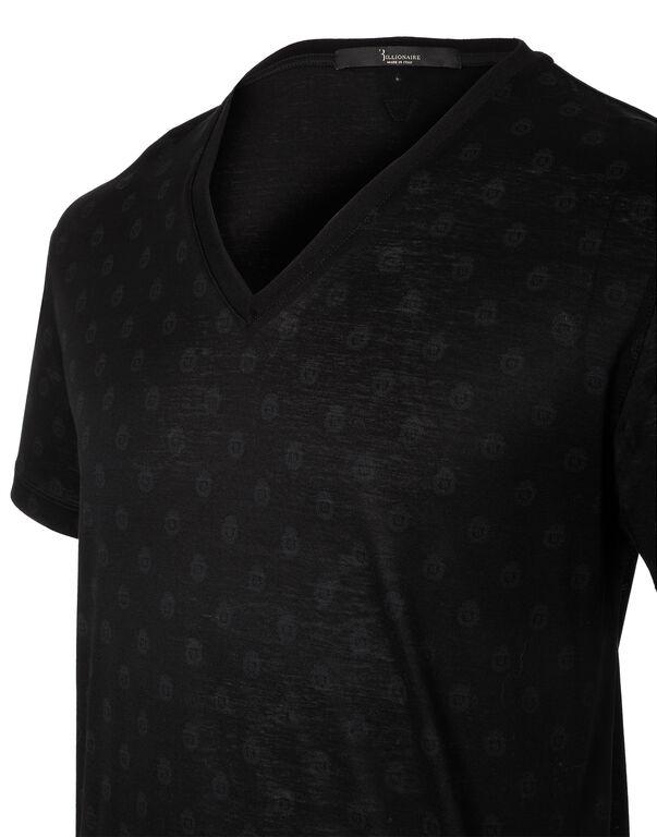T-Shirt V Neck SS