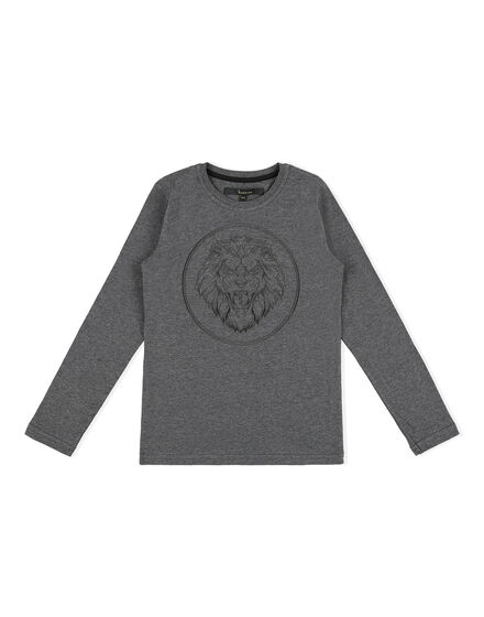 T-shirt Round Neck LS Lion