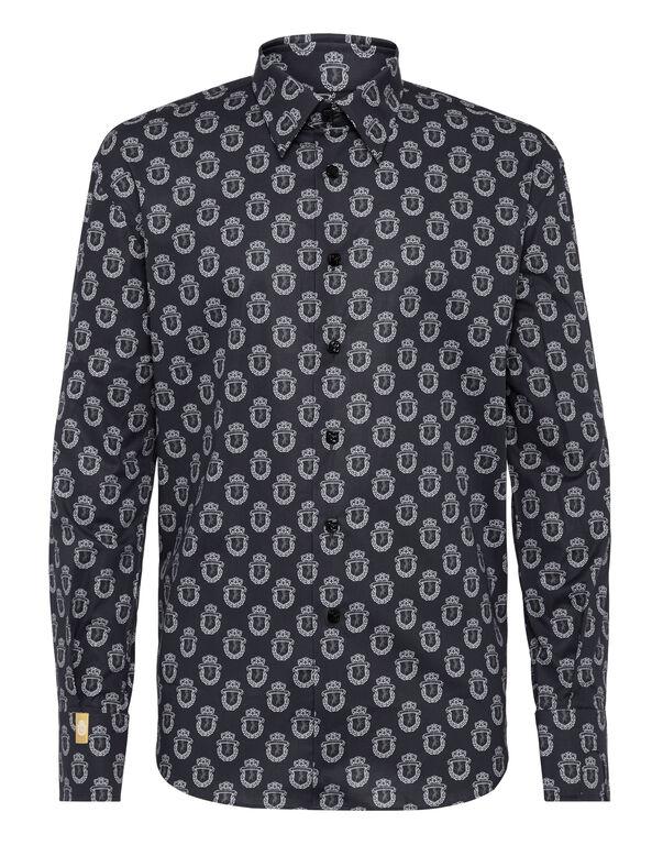 Shirt Gold Cut LS/Milano Lion