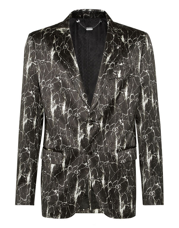 Blazer Super Slim Fit Marbled