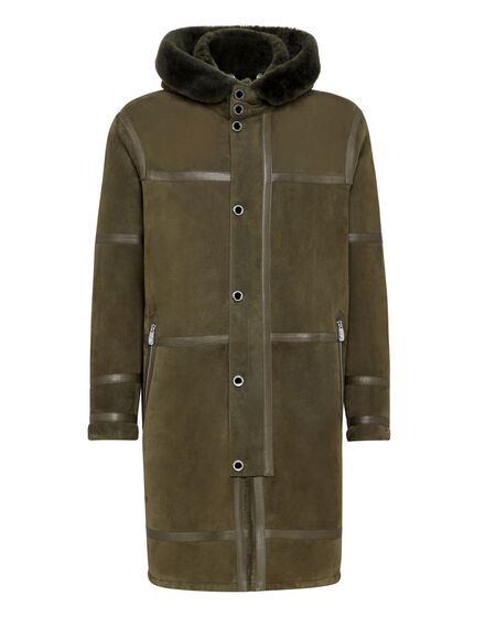 Leather Parka Istitutional