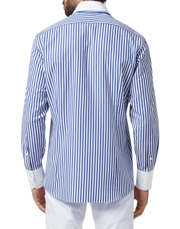 Shirt Silver Cut LS/Flavio Double B