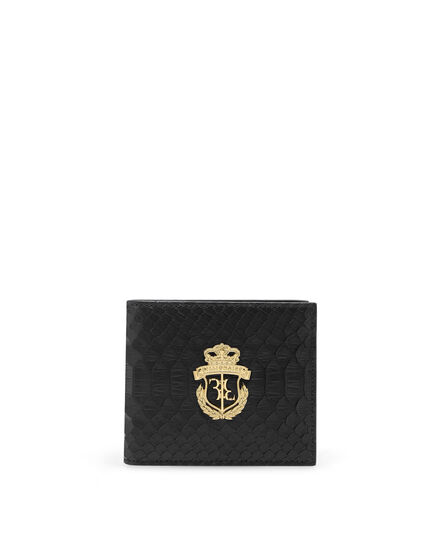 French wallet with Python Luxury