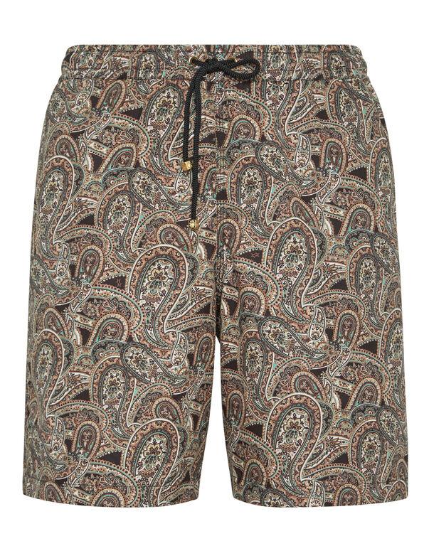 Beachwear Long Trousers Paisley
