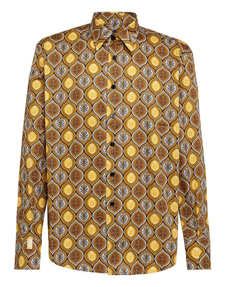 Shirt Gold Cut LS/Flavio Baroque