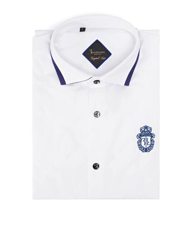 """Shirt Silver Cut LS """"Amede"""""""