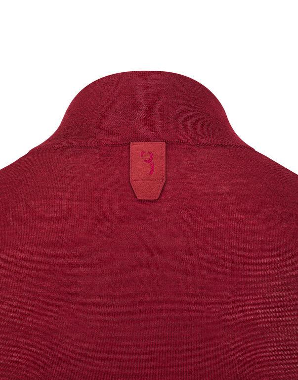 "Pullover zip mock ""Kensing"""