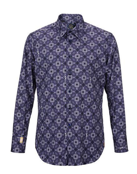 Shirt Silver Cut LS Abraham