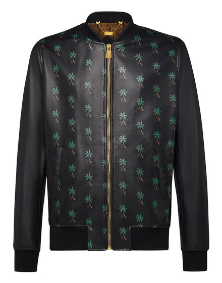 Leather Bomber Palms