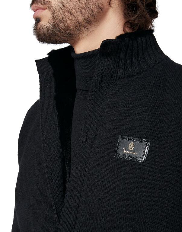 Knit Jacket Luxury