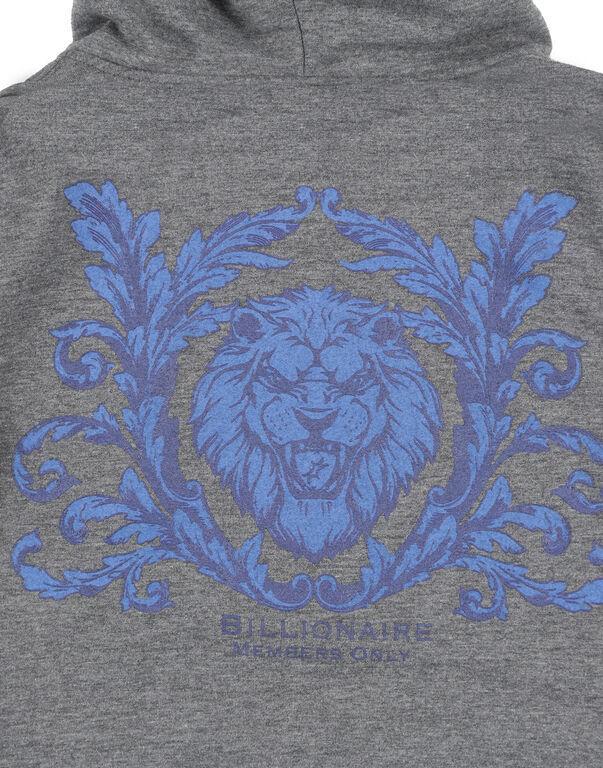 Hoodie Sweatjacket Lion