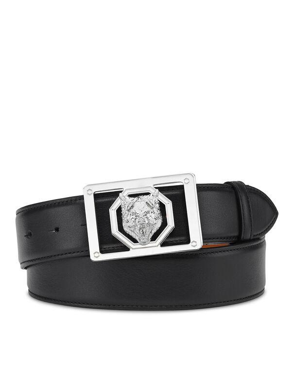 Leather Belt Wolf