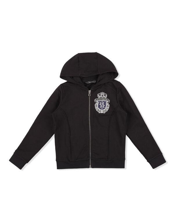 Hoodie Sweatjacket Crest