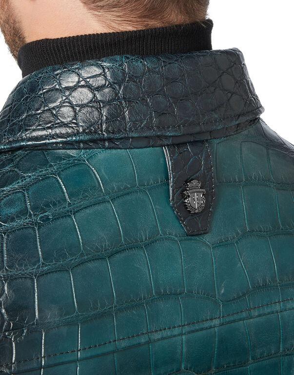 Leather Bomber Luxury