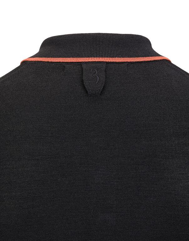 """Pullover Polo-Neck LS """"Patrick"""""""