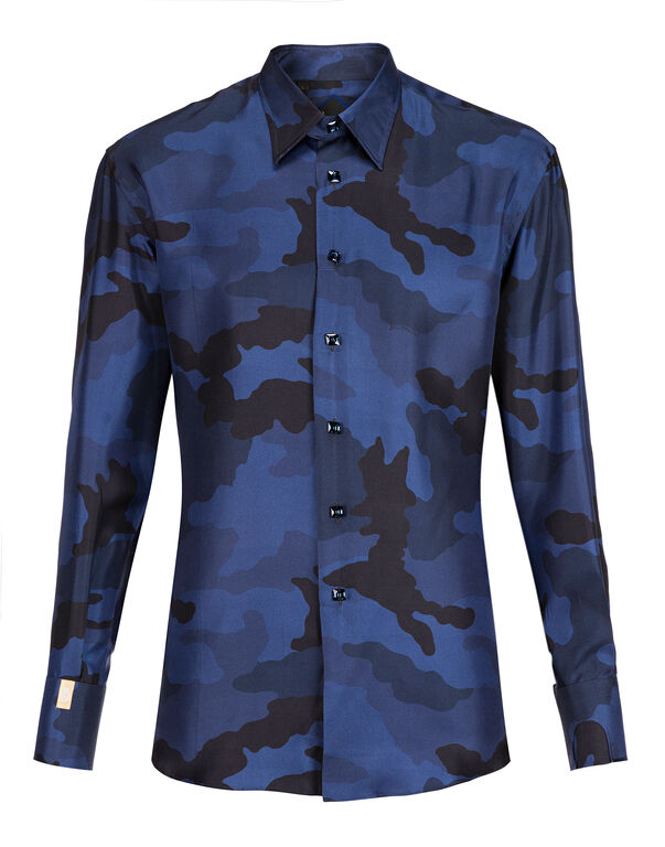 Shirt Gold Cut LS/Milano Camouflage