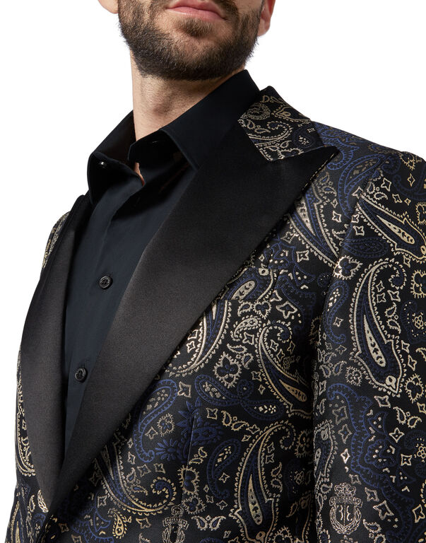 Blazer Super Slim Fit Paisley