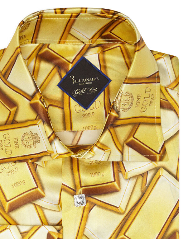 Shirt Gold Cut LS/Flavio Gold