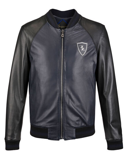 Leather Bomber Roland