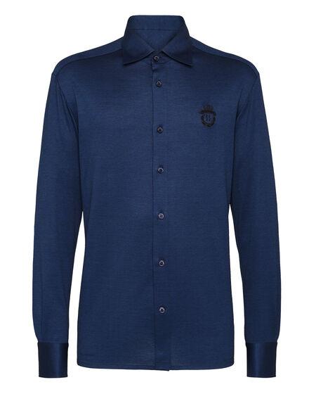 Shirt LS Crest