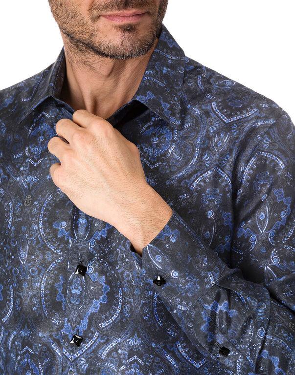 """Shirt Silver Cut LS """"Thiago"""""""