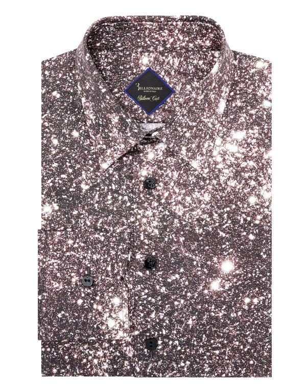 Shirt Silver Cut LS Crystal