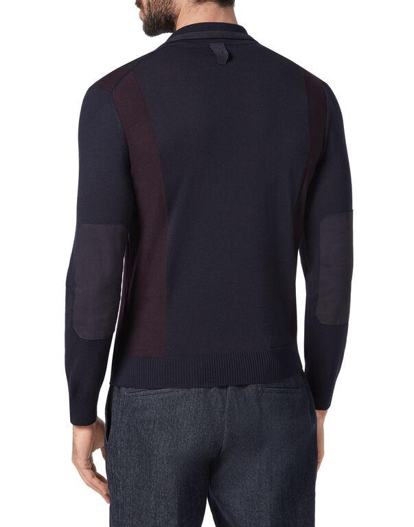 Pullover Polo-Neck LS