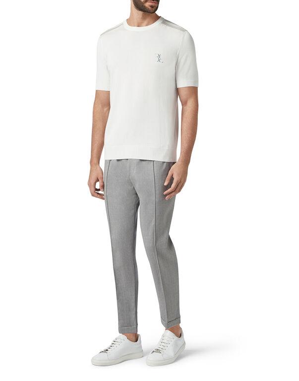 Pullover Round Neck SS Luxury
