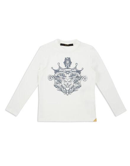 T-shirt Round Neck LS Bevis