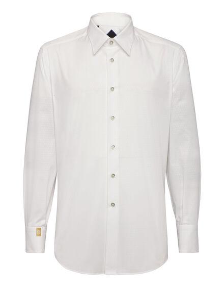 Shirt Silver Cut LS/Milano Giglio