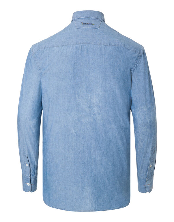 "Shirt Silver Cut LS ""Daniel"""