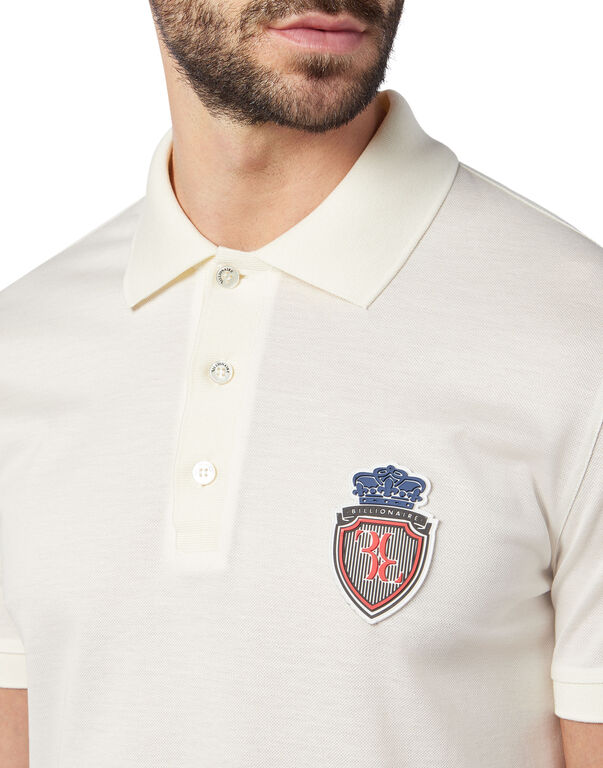 Polo shirt SS Palms