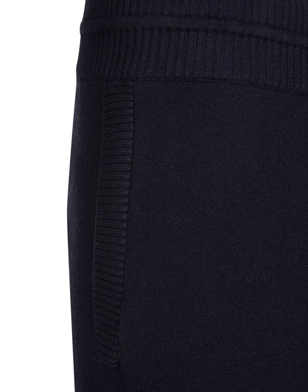 Knit Jogging Trousers Crest