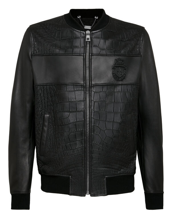 Leather Jacket Crest