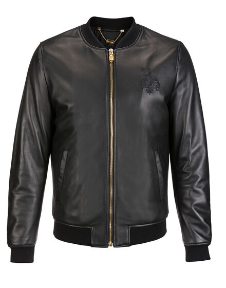 Leather Bomber Joe B.