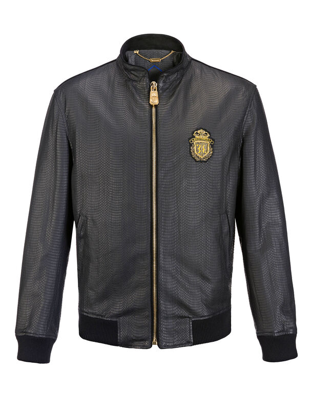 """Leather Bomber """"Willy"""""""