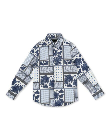 Shirt LS Paisley
