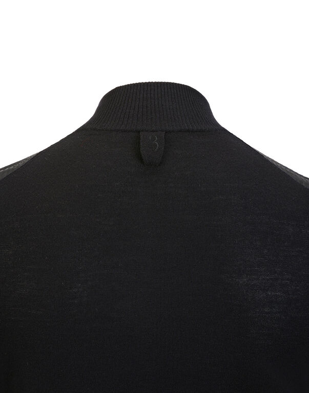 """Pullover zip mock """"Florian"""""""