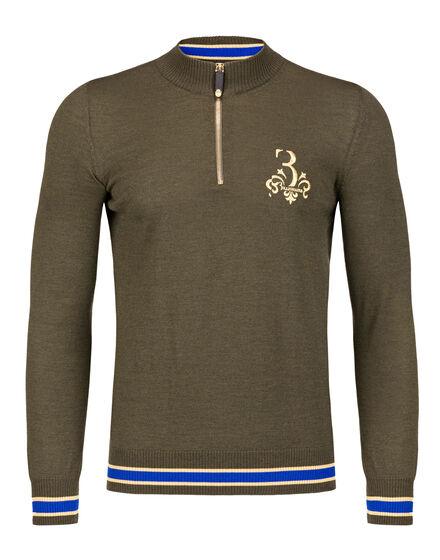 Pullover zip mock Rolf