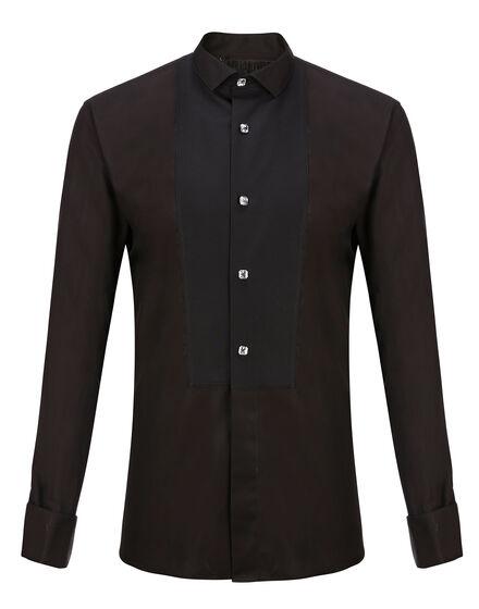 Shirt Silver Cut LS Dorian
