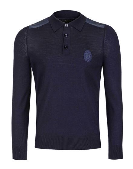 Pullover Polo-Neck LS Greul