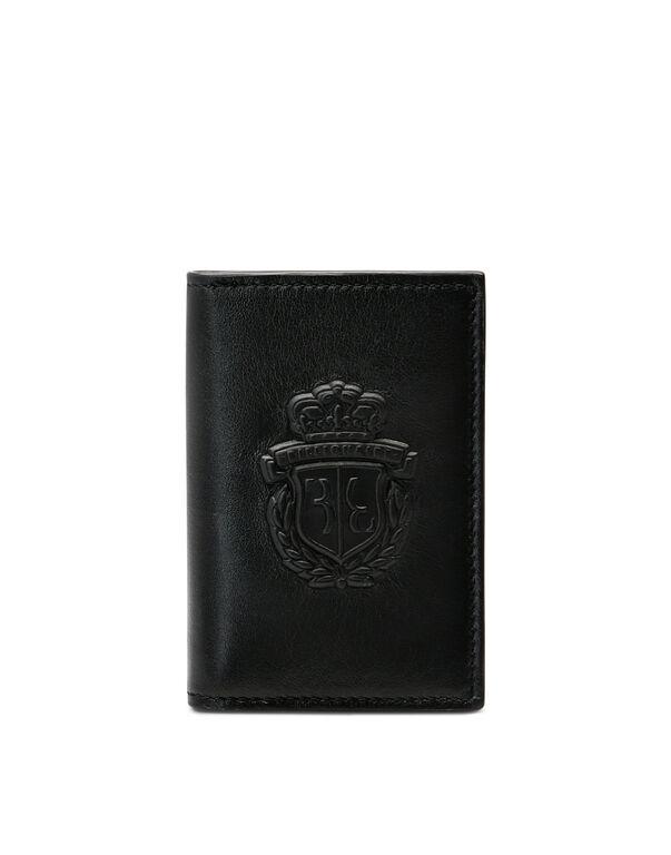 Credit Cards Holder Embossed Crest