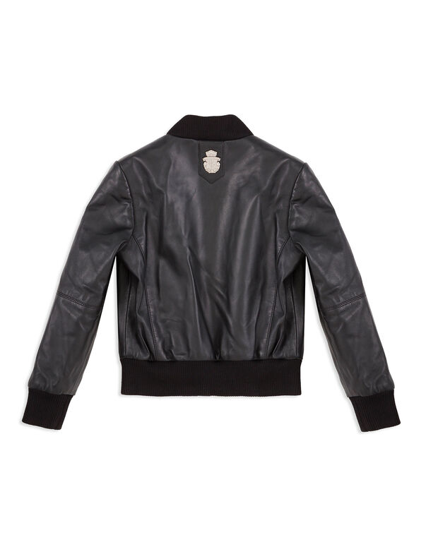 "Leather Bomber ""Elvin"""