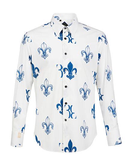 Shirt Silver Cut LS Amir