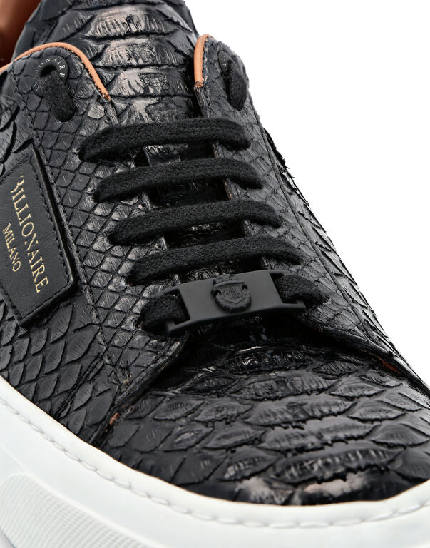 Python Lo-Top Sneakers Luxury
