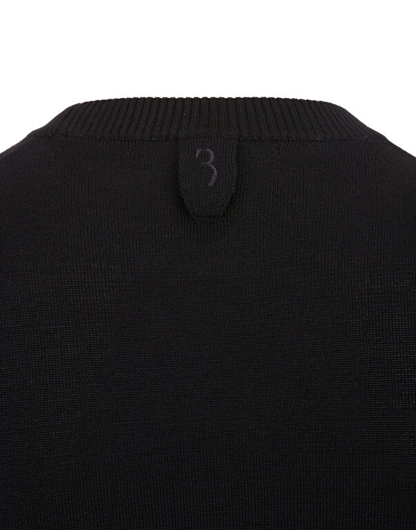 Pullover Round Neck SS All over BB