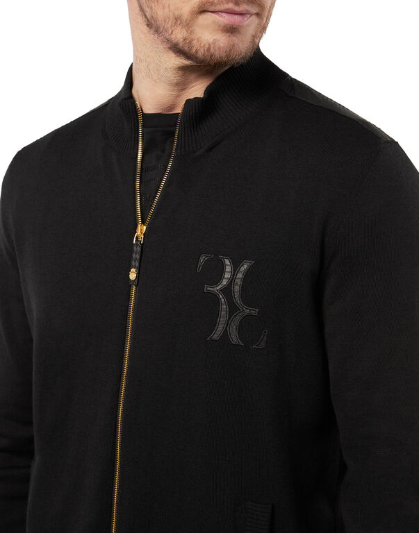 Pullover full zip Double B