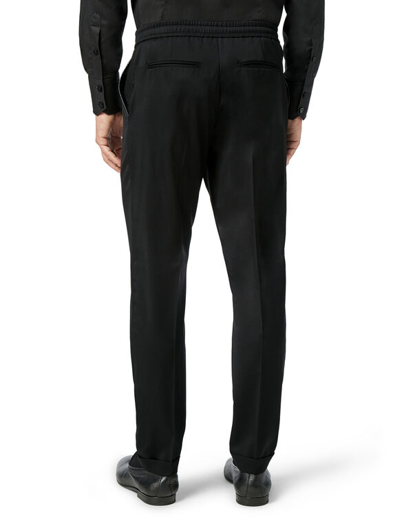 Slim Trousers Luxury